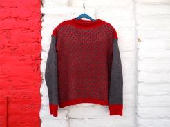 sweater-rojogris
